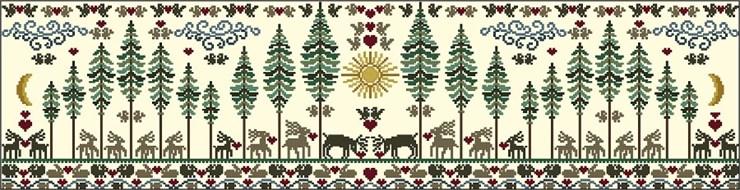 Совиный лес, схемы