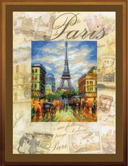 Набор для вышивания  Города мира. Париж - фото 13400