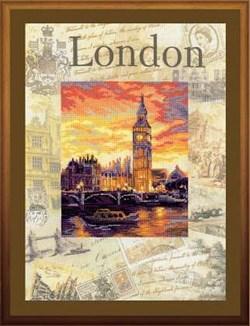 Набор для вышивания  Города мира. Лондон - фото 13401