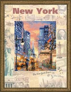 Набор для вышивания  Города мира. Нью-Йорк - фото 13403