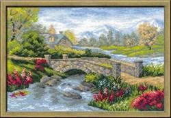 Набор для вышивания  Летний пейзаж - фото 13411