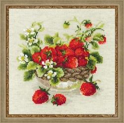 Набор для вышивания  Садовая клубника - фото 13434