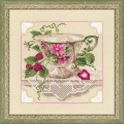 Набор для вышивания  Малиновый чай - фото 13439