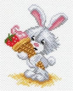 Набор для вышивания  Зайка - фото 13560
