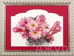 Набор для вышивания  Цветущий кактус - фото 13837