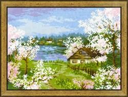 Набор для вышивания  Яблони в цвету - фото 14353