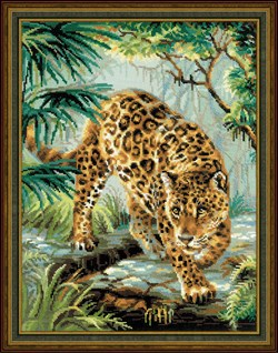 Набор для вышивания  Хозяин джунглей - фото 14360