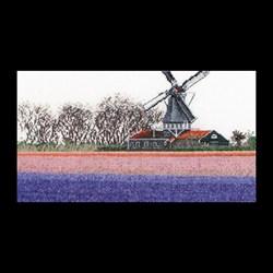Набор для вышивания Gouverneur  Гиацинтовые поля - фото 14402