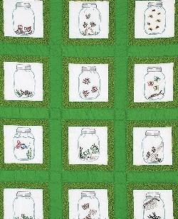 Ткань для вышивания  Банки - фото 14579