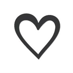 Акриловая форма Большое сердце - фото 14840