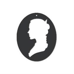 Акриловая форма Медальон - фото 14874