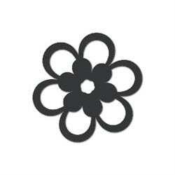 Акриловая форма Цветок - фото 14880