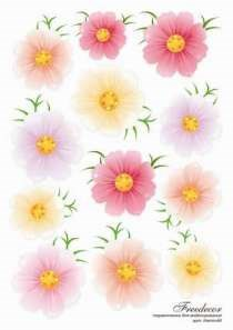 Термопленка Нежные цветы - фото 14901