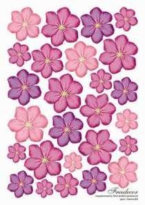 Термопленка Сиреневые цветы - фото 14914