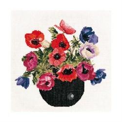 Рисунок на канве  В цветущем краю - фото 15275