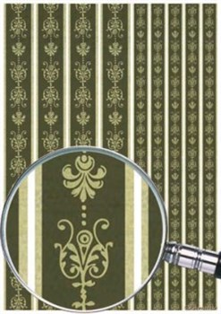 Скрап-карта  Бордюры темнозеленые - фото 15463