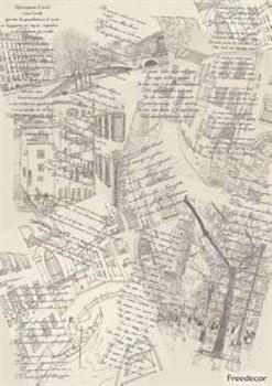 Декупажная карта  Стихи - фото 15555