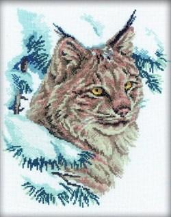 Набор для вышивания  Рысь - фото 16139