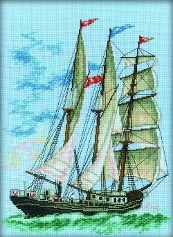 Набор для вышивания  Баркентина - фото 16141