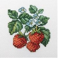 Набор для вышивания  Земляника - фото 16178