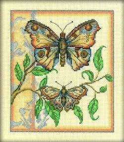Набор для вышивания  Тандем бабочек - фото 16182