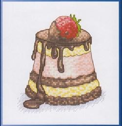 Набор для вышивания  Клубника в шоколаде - фото 16246