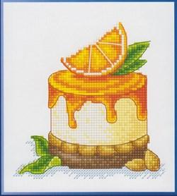 Набор для вышивания  Апельсиновая долька - фото 16248