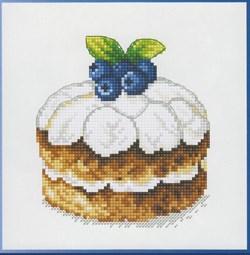 Набор для вышивания  Черничный десерт - фото 16250