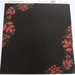 Бумага для скрапбукинга Winter Berries - фото 16842