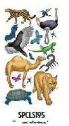 Наклейки  Животные  Животные пустыни - фото 16955