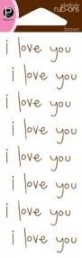 Натирки I love you - фото 17241