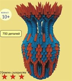 Модульное оригами Ваза - фото 17952