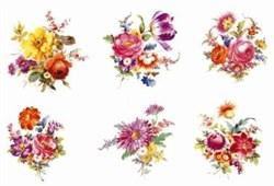 Бумага рисовая  Романтические букеты - фото 17965