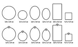 Акриловые формы для украшений Mod Podge основные - фото 18447