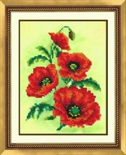 Набор для вышивки бисером  Аленький цветочек - фото 19433