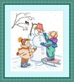 Набор для вышивания  Зимняя забава - фото 20042