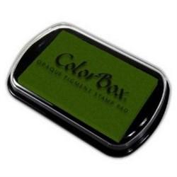 Пигментная подушка Темно-зеленая - фото 20837