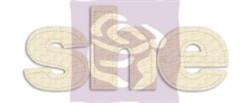 Буквы из стеганной ткани SHE (Prima Marketing Inc) - фото 21047
