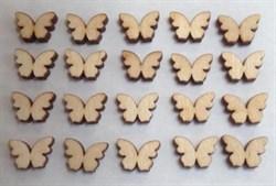 Бабочки, набор 20 шт. - фото 21292
