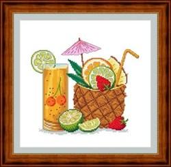 Набор для вышивания  Тропический коктейль - фото 21316