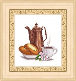 Набор для вышивания  Утренний кофе - фото 21317
