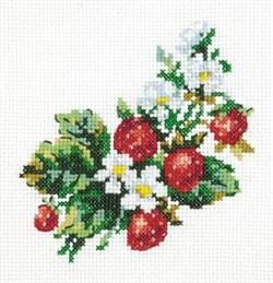 схема вышивки крестиком лето