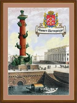 Набор для вышивания  Города России. Санкт-Петербург - фото 22775