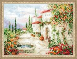 Набор для вышивания  У фонтана - фото 22787