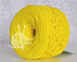Пряжа  Лента  цвет желтый - фото 24370