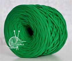 Пряжа  Лента  цвет зеленый - фото 24371