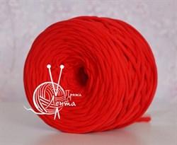 Пряжа  Лента  цвет красный - фото 24376