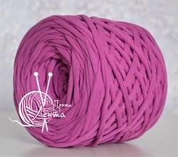Пряжа  Лента  цвет лиловый - фото 24378