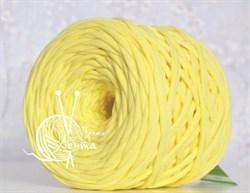 Пряжа  Лента  цвет лимон - фото 24379