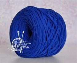Пряжа  Лента  цвет синий - фото 24391